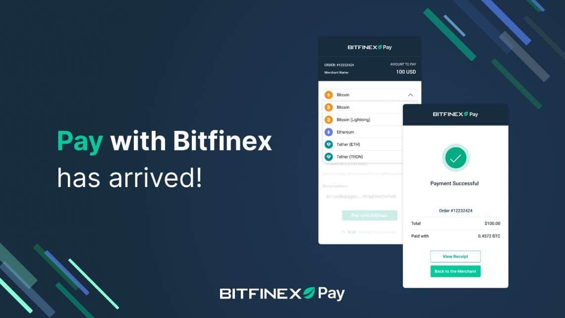Ora è possibile accettare pagamenti crypto con Bitfinex Pay