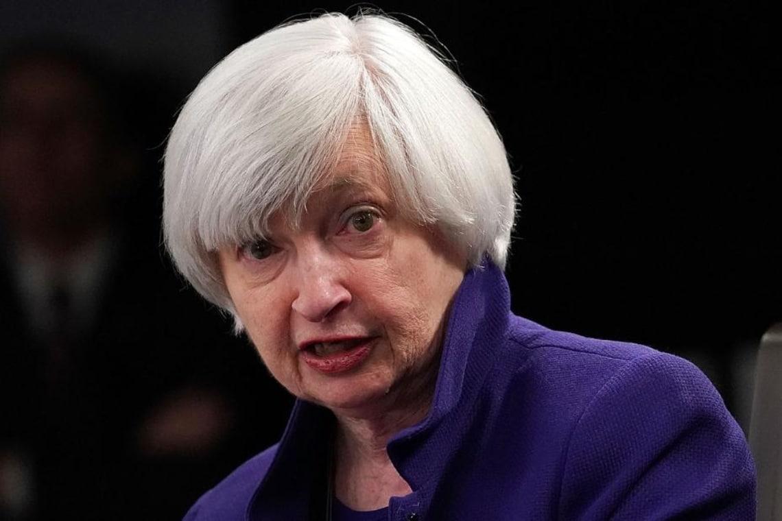 Tassi in rialzo, le parole di Janet Yellen spaventano Bitcoin
