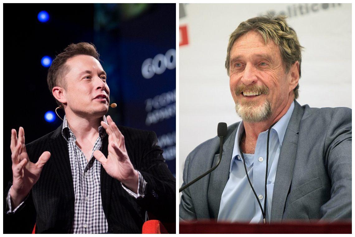 Elon Musk, John McAfee e la manipolazione di Bitcoin e Dogecoin: possono dei tweet cambiare il valore di un asset?