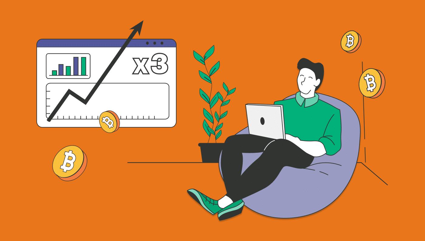Una strategia semplice per fare X3 dei propri BTC