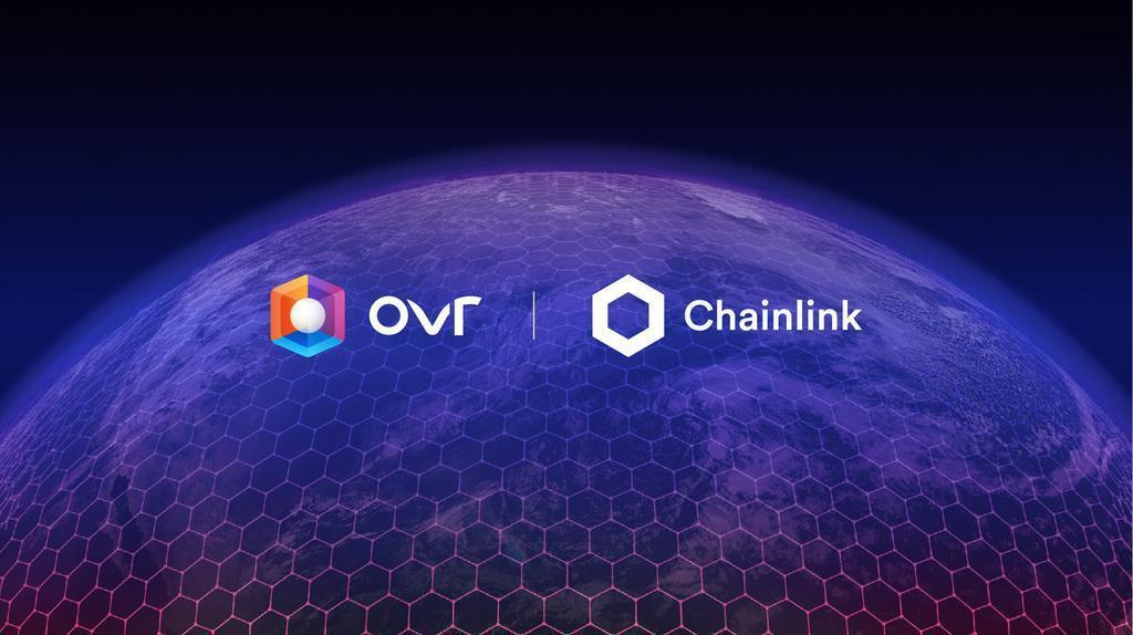 OVR e Chainlink per collegare il metaverso al mondo reale