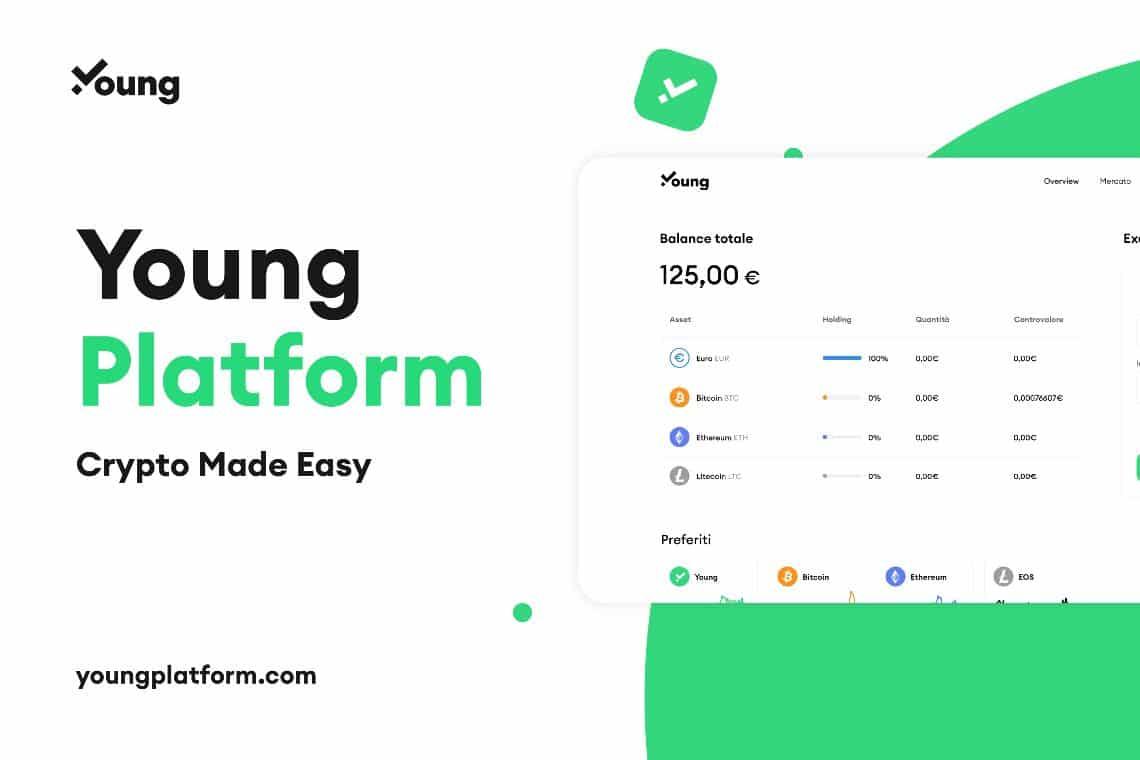 Young platform, la startup crypto pronta all'espansione