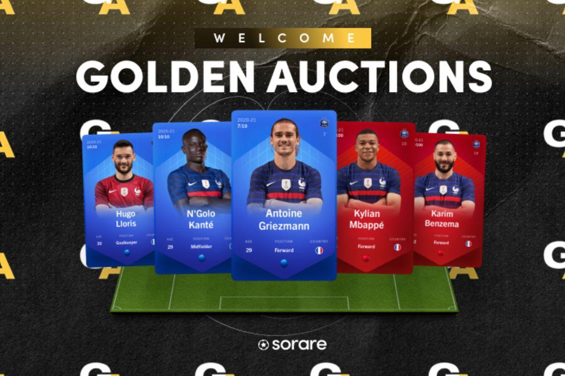 Sorare e Goldin Auction, all'asta NFT di calciatori di Francia e Belgio