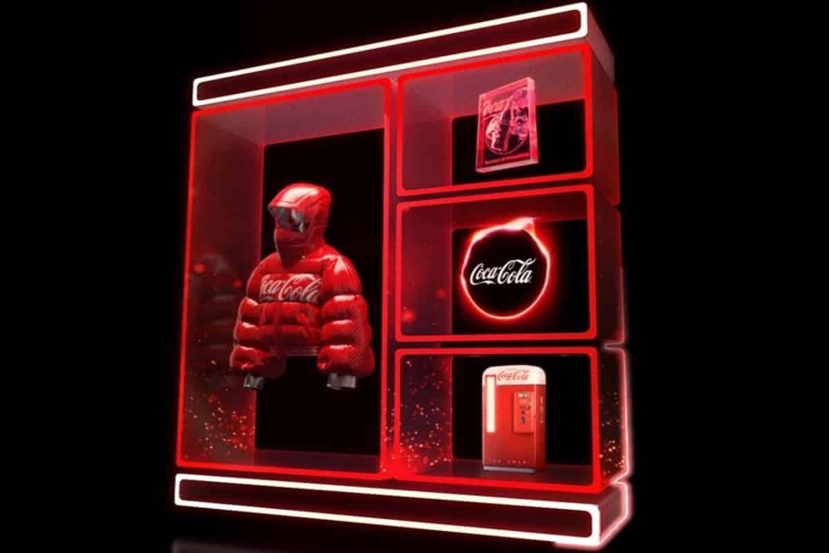 Coca Cola mette all'asta i suoi primi NFT su OpenSea