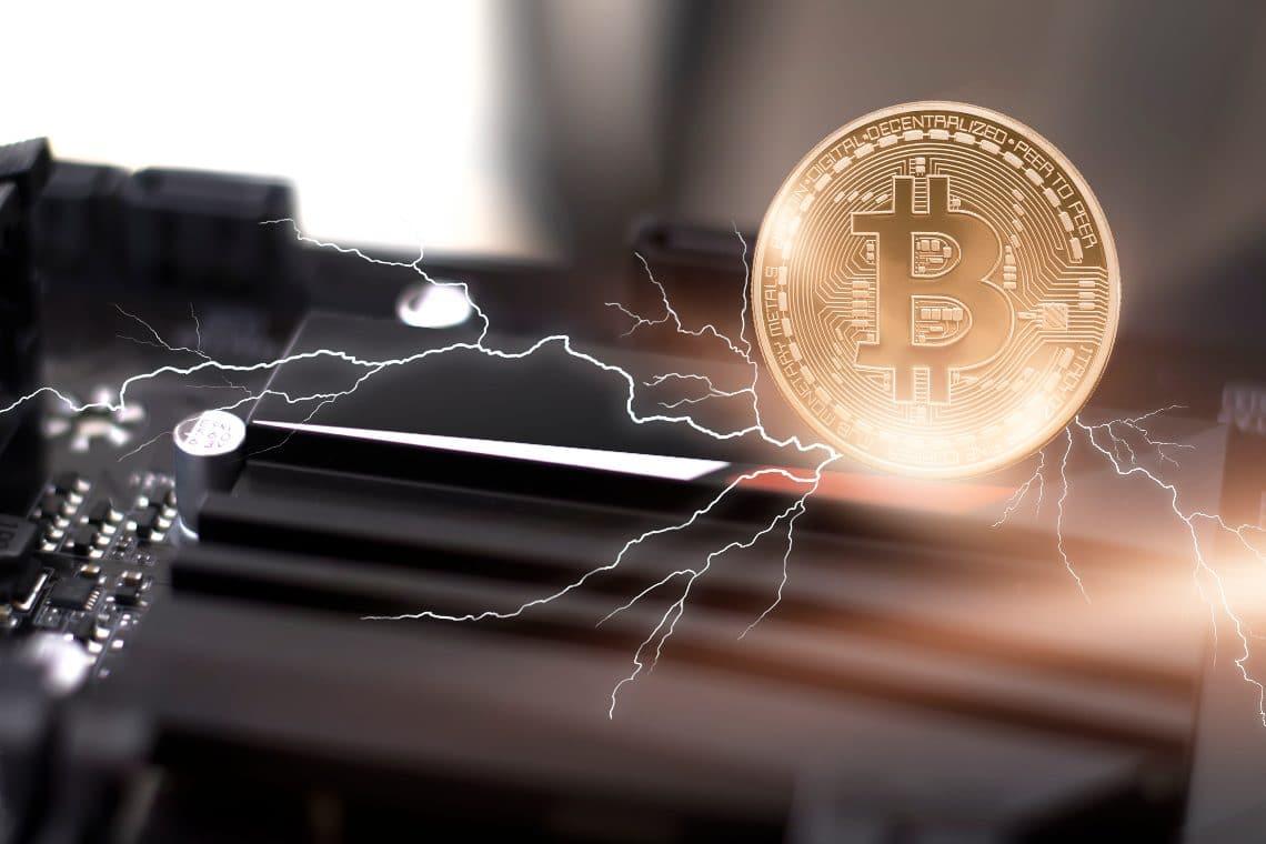 Bitcoin: nuovo record per Lightning Network