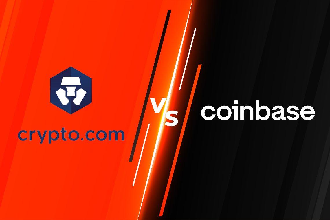 Crypto.com vs Coinbase: Qual è meglio?