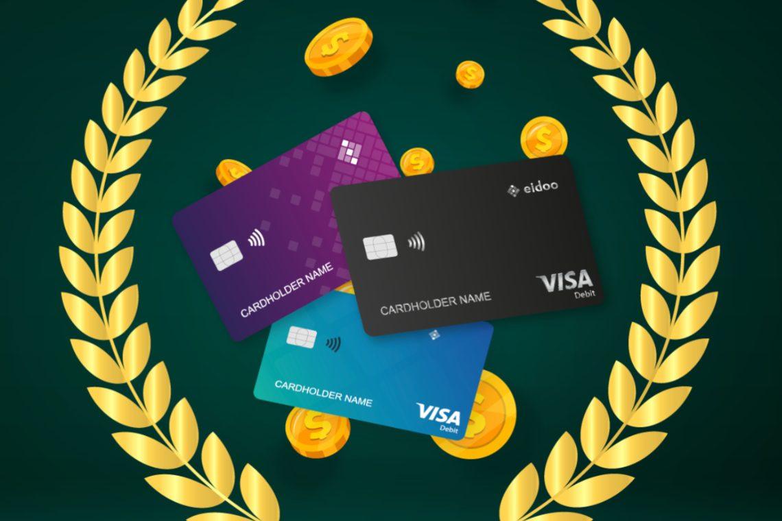 Eidoo: arrivano le carte di debito Visa con il 16% di cashback