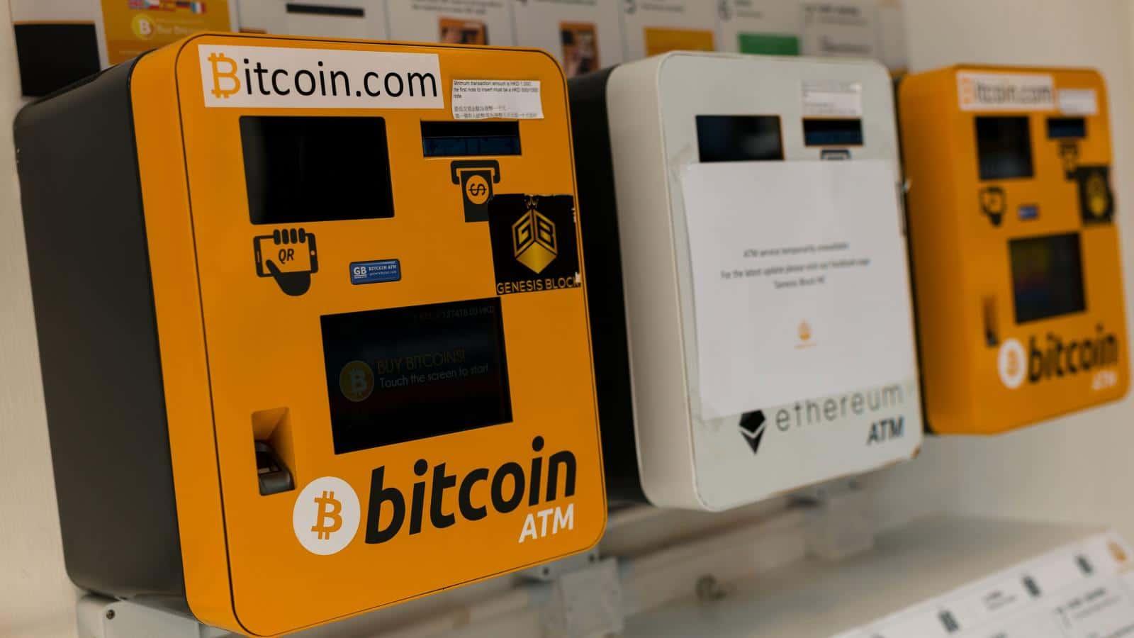 Il numero di Crypto ATM sale: oltre 24mila in tutto il mondo
