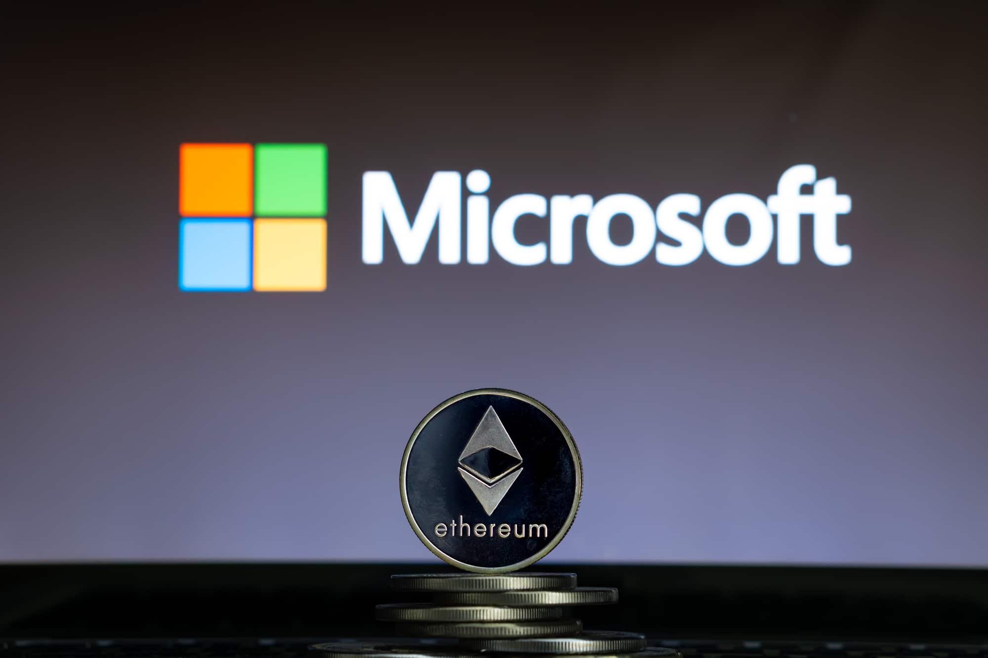 Microsoft utilizzerà Ethereum per un sistema anti-pirateria
