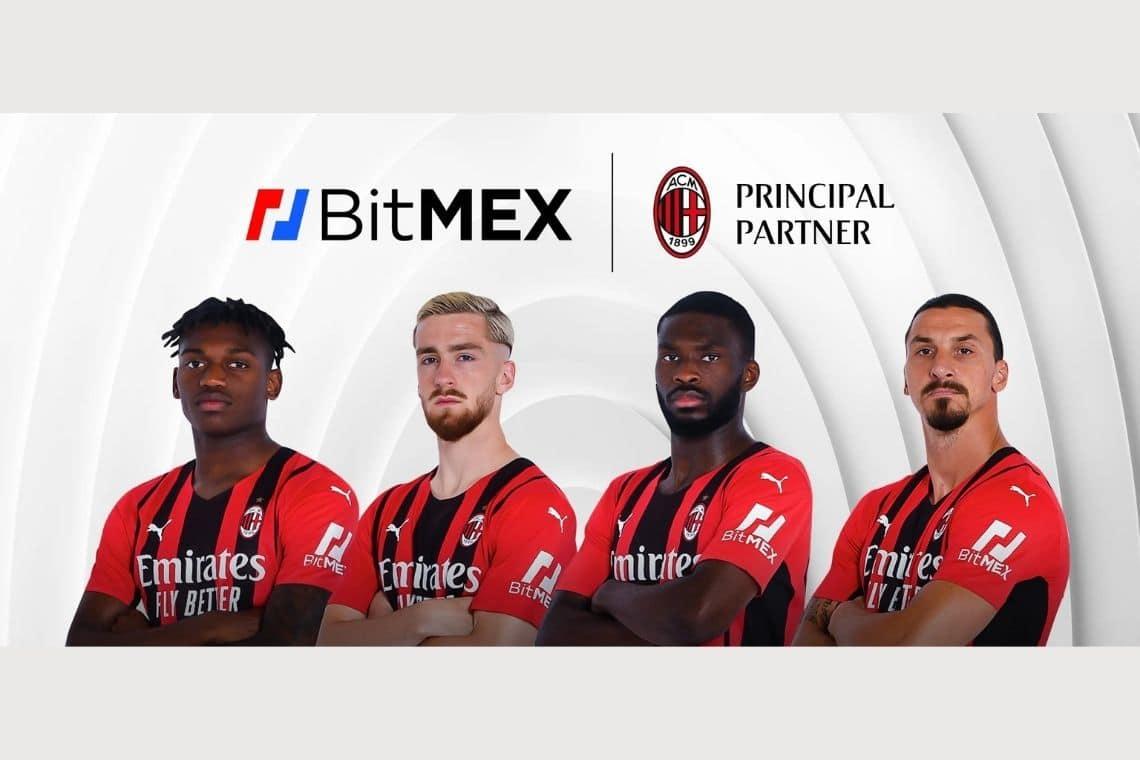 AC Milan, BitMEX partner ufficiale