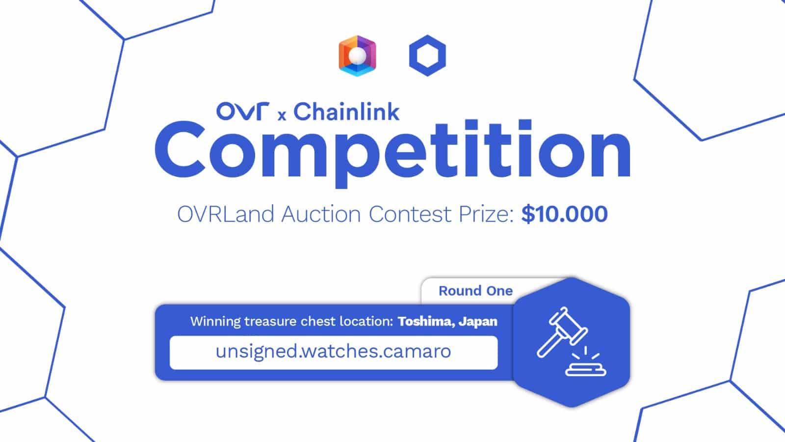 OVR collabora con Chainlink: gare con premi per un totale di 65mila dollari