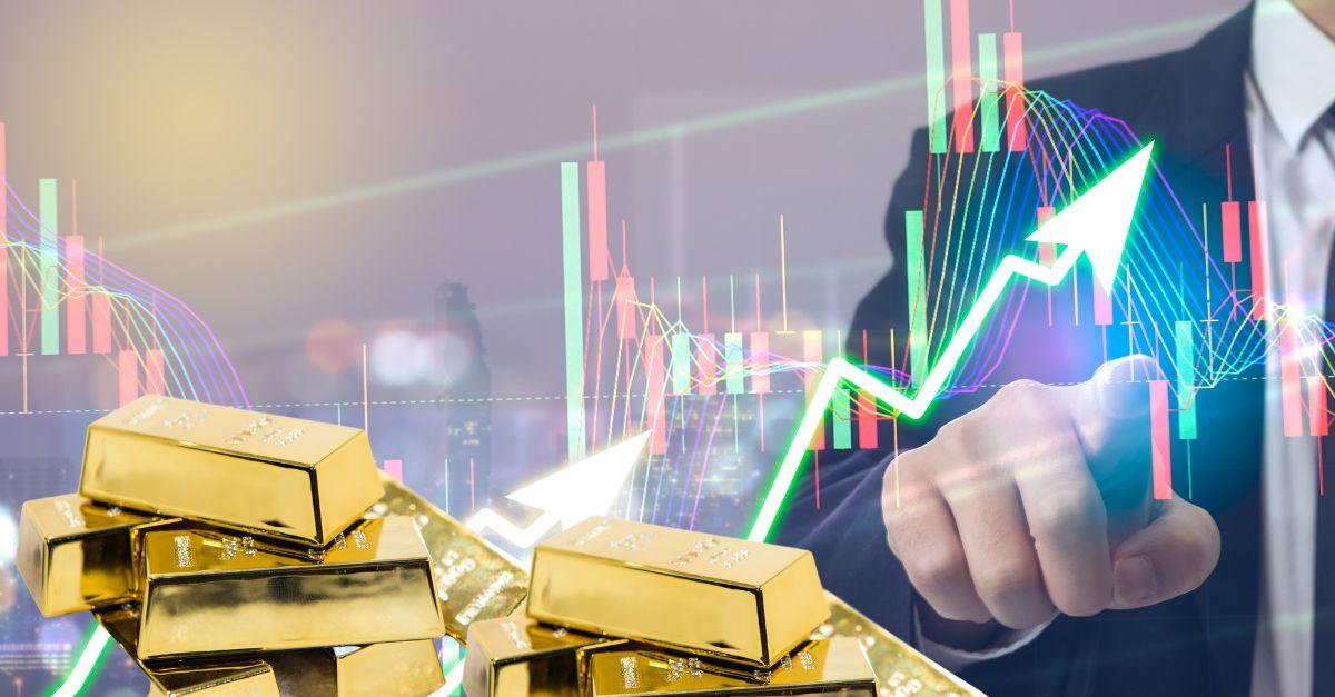 Flash crash per l'oro, addio correlazione con Bitcoin