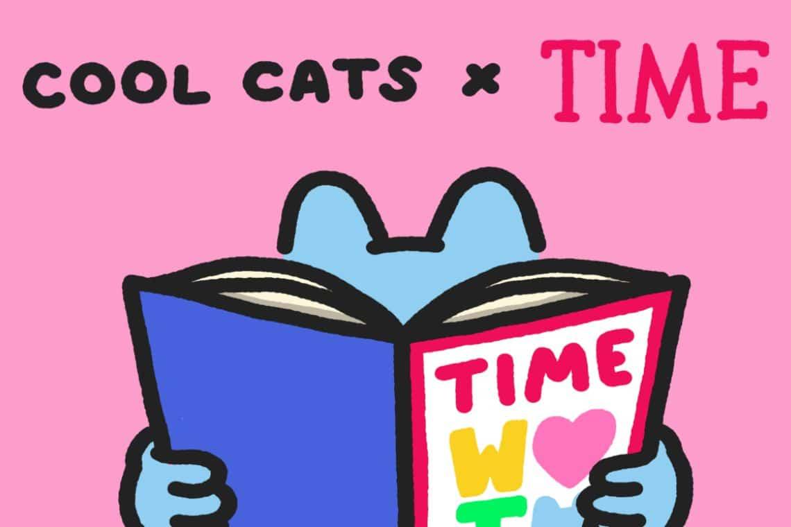 Time, 400 NFT in collaborazione con Cool Cats