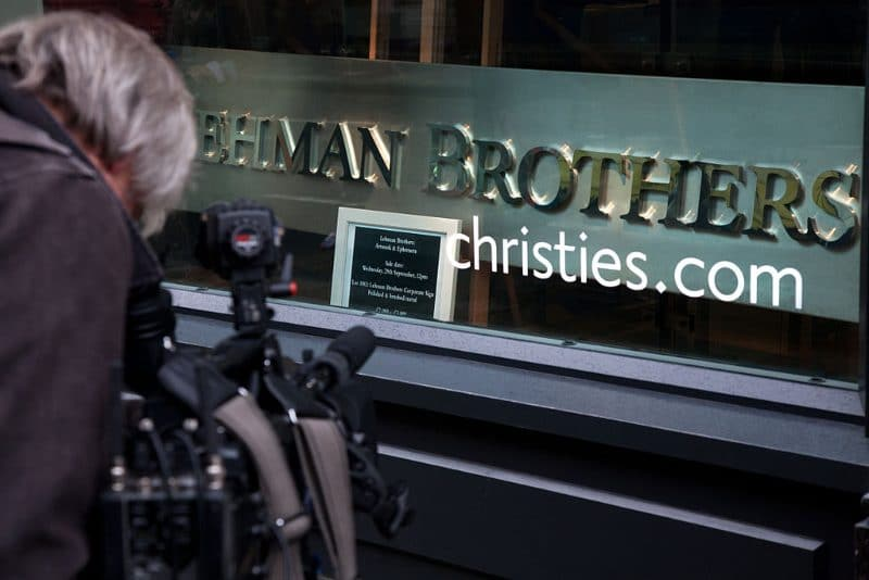 Evergrande crisis Lehman Brothers