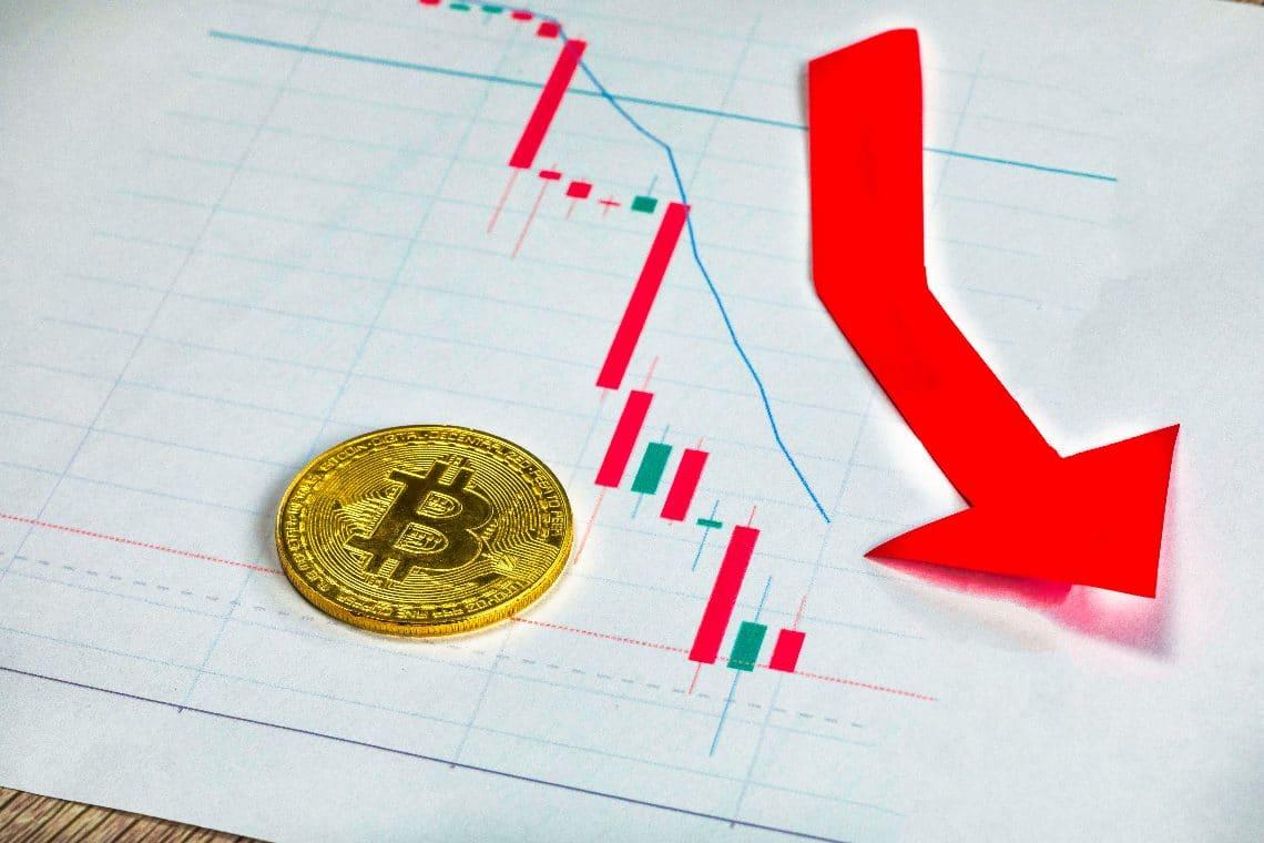 Tuffo dei prezzi di Bitcoin ed Ethereum