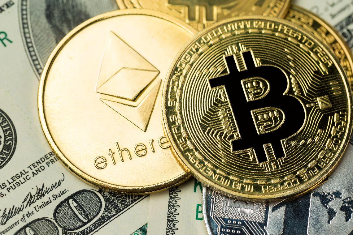 Dominance: sale Ethereum, scende Bitcoin