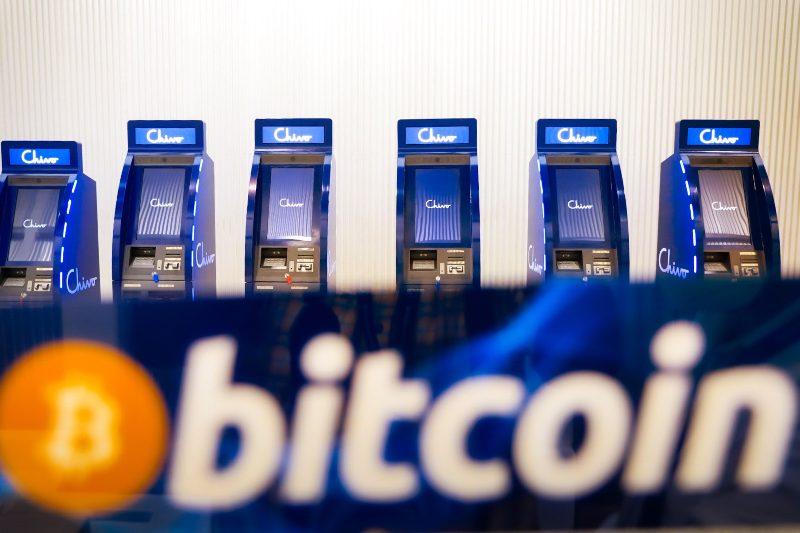 Cajeros de Bitcoin Chivo en El Salvador