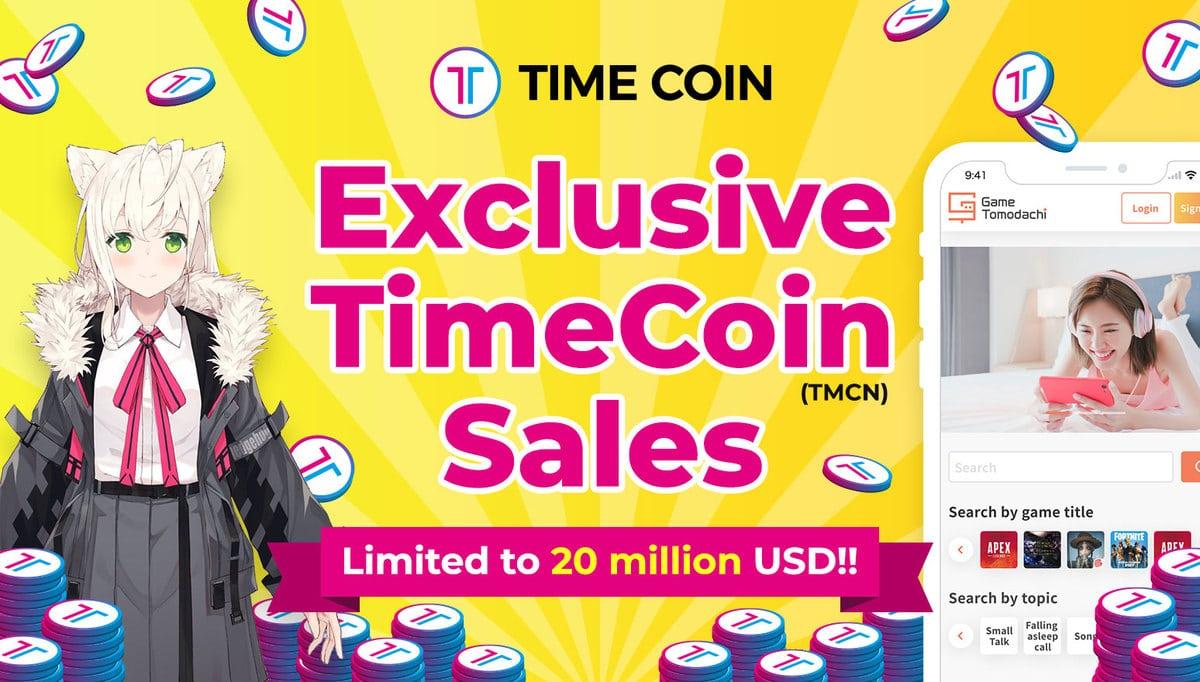 TimeCoin (TMCN): occasione imperdibile con il miglior servizio di NFT, DeFi e Matching di giocatori