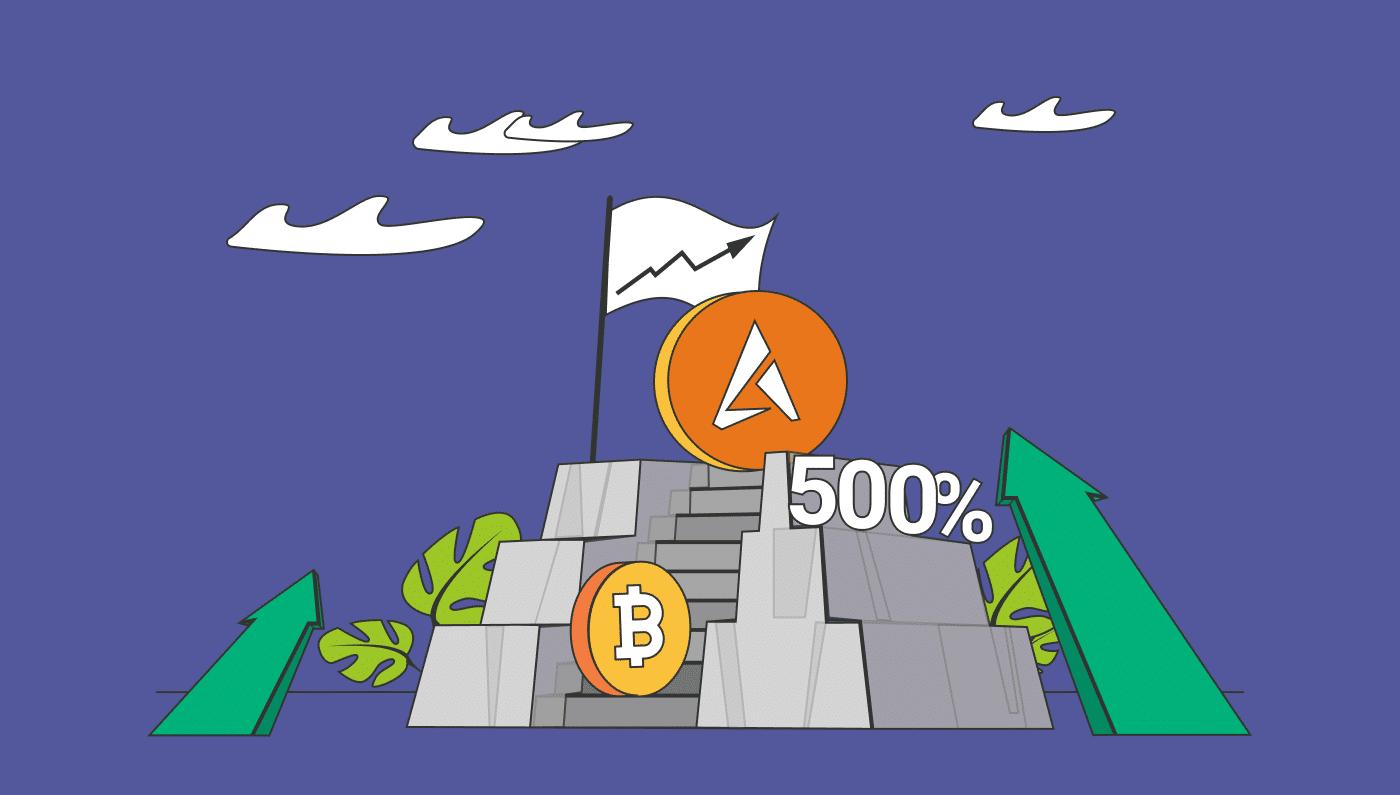 RBIS, la criptovaluta di Arbismart è salita del 500% più di Bitcoin