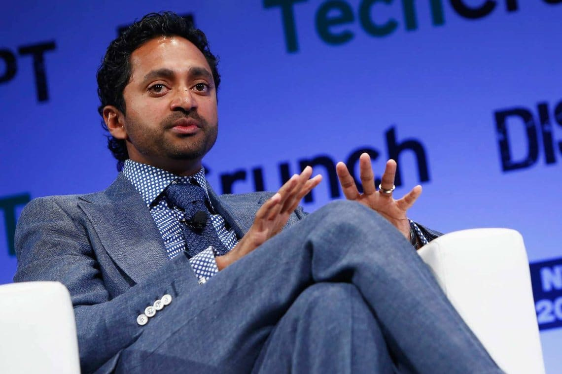 "Chamath Palihapitiya: ""Bitcoin ha sostituito l'oro"""