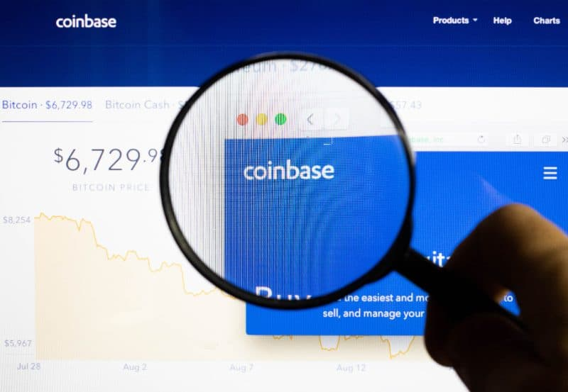 Coinbase attacco