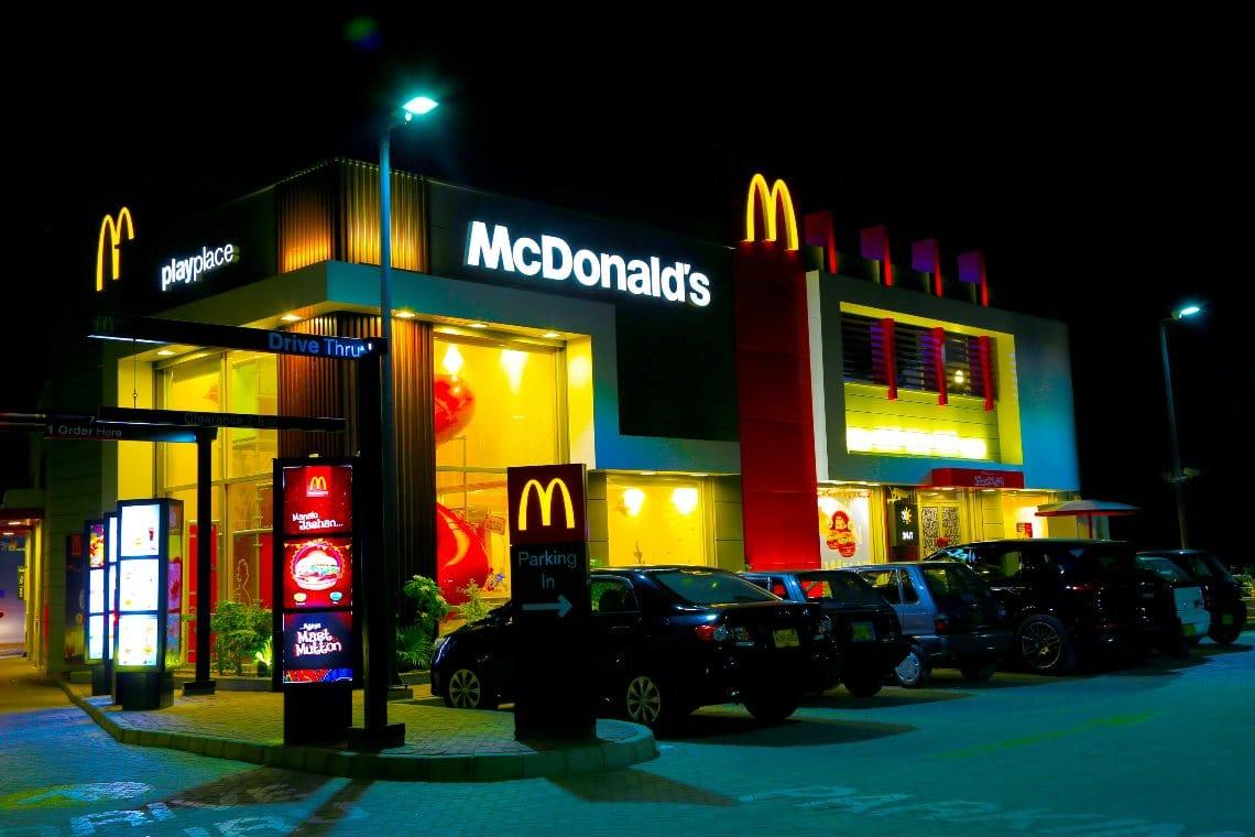 McDonald's yuan digitale