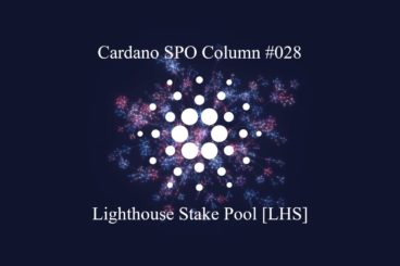 Cardano SPO: Lighthouse Stake Pool [LHS]