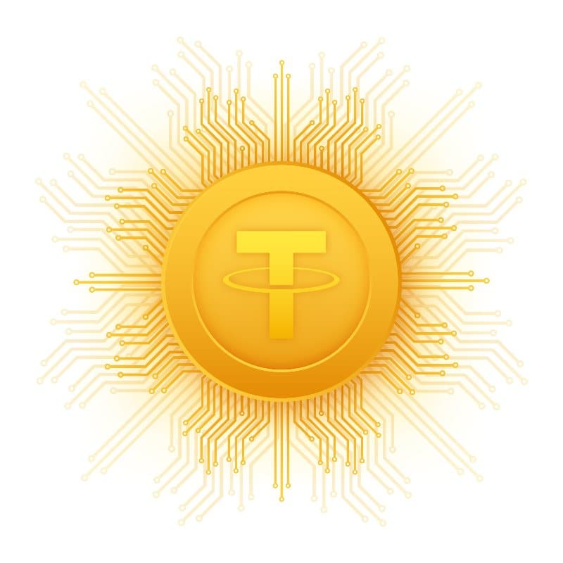 tether Bloomberg