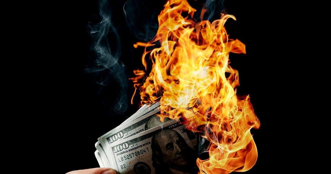 Schizza in su il tasso di inflazione in Usa